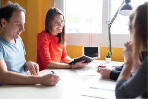 brainstorming équipe / crédit studios numériques