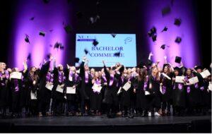 remise des diplômes à neoma business school