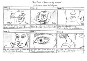 Storyboard IDSCENT numeriques.fr